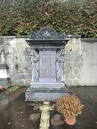Tombe de Jean et Alexandre Lacassagne à Beynost.JPG