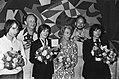 Toneelprijzen 1980 uitgereikt door ministers Gardeniers (CRM) in Leiden temidden, Bestanddeelnr 930-8358.jpg