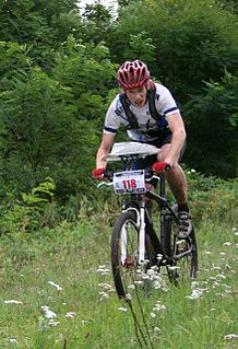 Tõnis Erm Estonian mountain bike orienteer