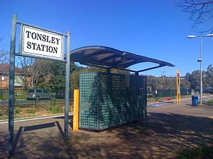 Tonsley railway line - Image: Tonsley Station 2