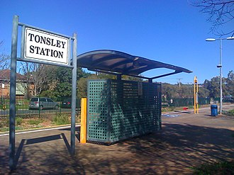Tonsley railway line - Image: Tonsley Station 2