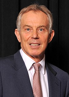 Tony Blair Former Prime Minister of the United Kingdom