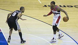 John Wall (basketball) - Wall during the 2013–14 season