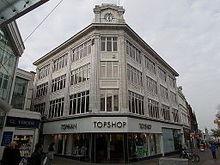e6d5cc50a6cbb A branch of Topshop in Sutton High Street, Sutton, London