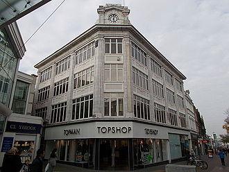 Topshop - A branch of Topshop in Sutton High Street, Sutton, London