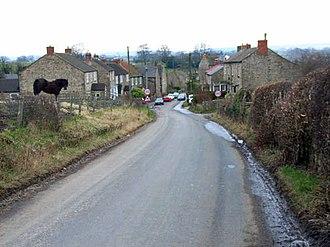 Hunton, North Yorkshire - Image: Top end of Hunton village