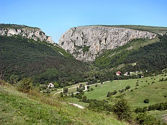 Turda Gorge - Image: Tordai hasadék ML