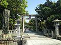 Torii of Munakata Grand Shrine (Hetsu Shrine).JPG