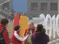 Torino 2006 Shaw troupe interview Canada team member near Casa British Columbia.jpg