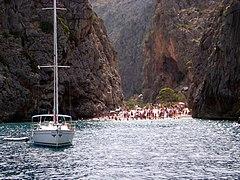Torrente de Pareis from boat 02