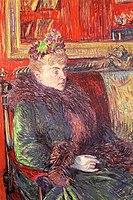 Toulouse-Lautrec - Portrait of Madame de Gortzikolff, 1893.jpg
