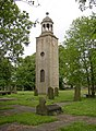 Tower of Lightcliffe Old Church, Wakefield Road, Lightcliffe, Hipperholme - geograph.org.uk - 187855.jpg