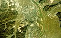 Toyooka city center area Aerial photograph.1976.jpg