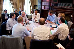 Trade and Investment meeting at G8 summit, 2013