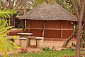 Traditional thatched house at the national museum of Botswana 2.jpg