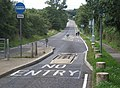 Traffic restriction measures on the Old Norwich Road - geograph.org.uk - 934790.jpg
