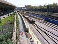 Train carrying track for Crossrail London 37.JPG