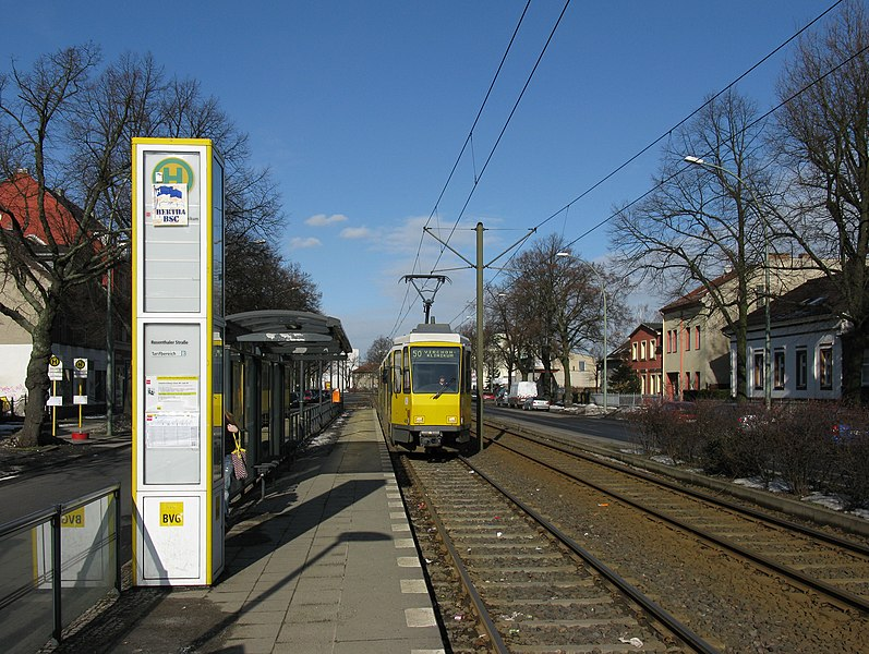 File:Tram stop Berlin Rosenthaler Str (2010).jpg