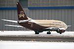 Transaero Airlines, EI-UNH, Boeing 737-524 (31326923651).jpg