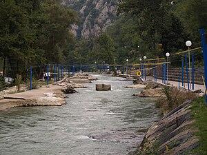 Treska - Kayak track in the River