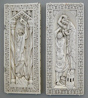 Doubting Thomas - Ottonian ivory diptych