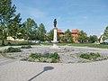 Triple well, Szent István Square, 2017 Pomáz.jpg