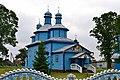 Troianivka Manevytskyi Volynska-Nativity of the Theotokos church-north-west view.jpg