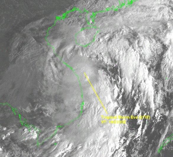 Tropical Storm Eve 1999