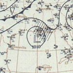 Tropical Storm Four surface analysis July 30, 1908.png