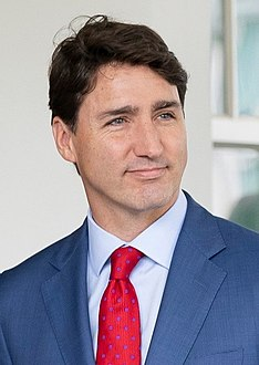 Trudeau visit White House for USMCA (cropped).jpg