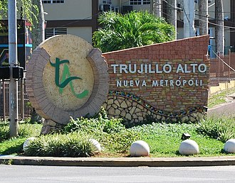Trujillo Alto, Puerto Rico - Trujillo Alto, Puerto Rico marker on PR-181