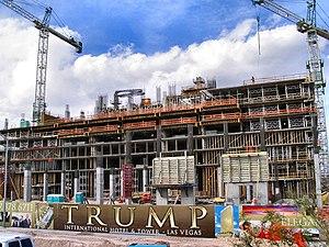 Trump International Hotel Las Vegas - Image: Trumplvtowermarch 2006