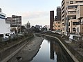 Tsuboigawa River from Giombashi Bridge 4.jpg