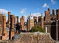 Tudor Chimney Pots at Hampton Court Palace - panoramio.jpg