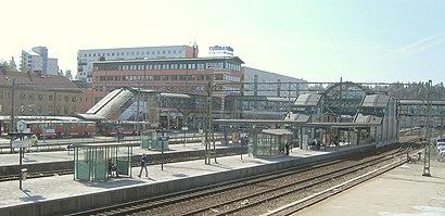 Vägbeskrivningar till Tumba Station med kollektivtrafik