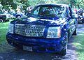 Tuned Chevrolet Silverado 1500 Or GMC Sierra With Cadillac Grille (5eme picnic et BBQ 2011 du club de Lowrider LuxuriouS Montréal).jpg