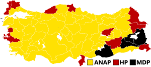 Turkish general election, 1983 - Image: Turkish general election, 1983