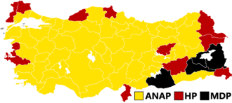 Turkish general election, 1983 - Image: Turkish general election, 1983