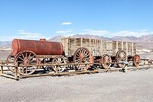 Harmony Borax Works - A twenty-mule team wagon.