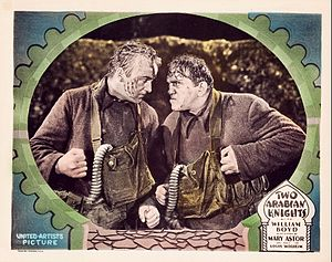 Two Arabian Knights - Lobby card