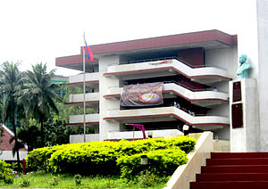 History of the Polytechnic University of the Philippines - The Mabini Obelisk and Main Academic Building