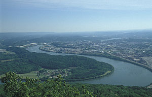 English: Chattanooga (city), Tennessee, USA, v...