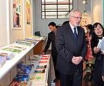 U.S. Ambassador David Shear opens safe medicine exhibition in Hanoi (6639689335).jpg