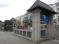 U2 Theodor-Heuss-Platz entrance.jpg