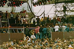 UB40 bei Rock am Ring 1987
