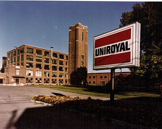 United States Rubber Company - Uniroyal plant in Saint-Jérôme, Quebec, built in 1911–1930