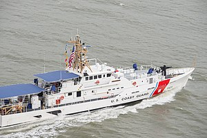 USCGC John F. McCormick in San Francisco, on her way to her home port, Ketchikan, Alaska -s