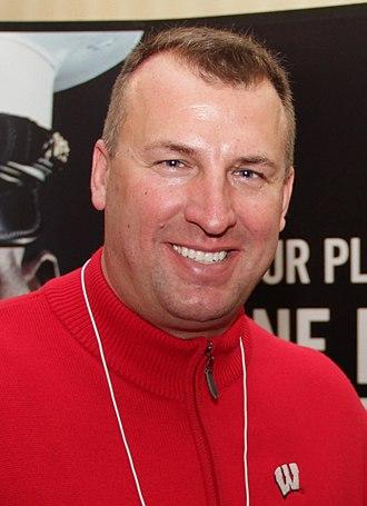 Bret Bielema - Bielema in 2011