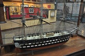 USS Vermont (1848) - Image: USS Vermont Model 2