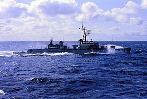 USS Brownson (DD-868) in the Atlantic 1964